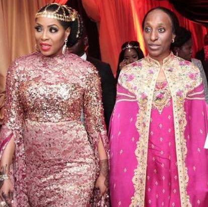 Dolapo Osinbajo also donning Arabian dress all for premiere of 'The Wedding Party 2' (photos
