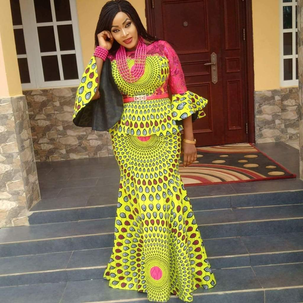 Latest Ankara Styles 2019 For Ladies