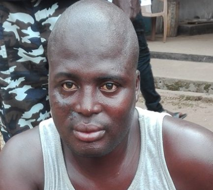 man who killed his wife and sons in Edo