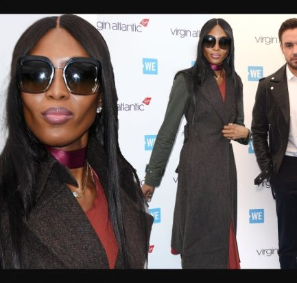 48 year old Naomi Campbell and her rumoured beau Liam Payne, 25, attend another event at Wembley Arena(Photos)