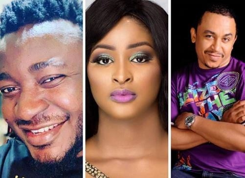 Daddy Freeze Accepted the responsibility for Etinosa going nude on Instagram, this is what he said.