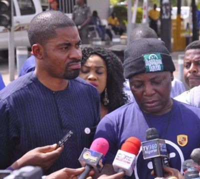The fight between the leaders of Our Mumu Don Do Group Charly Boy and Deji Adeyanju, appears to be far from over.