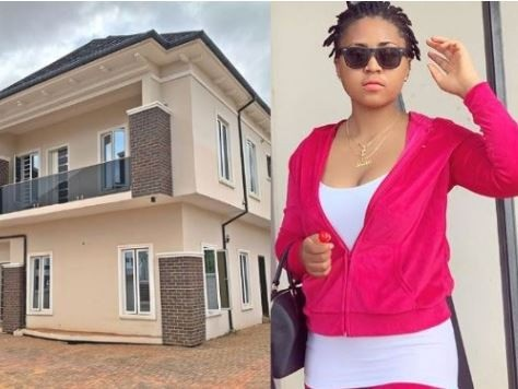 This is what Nollywood actress Regina Daniels got for her mum