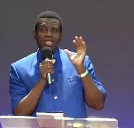 Adeboye can't trust himself with female secretary here is the reason.