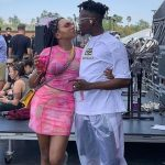 Eazi and his bae, Temi Otedola,