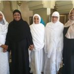 Aisha Buhari and other First Ladies African pictured in Mecca for Hajj