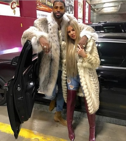 Khloe Kardashian 'accused of cheating' with Tristan Thompson