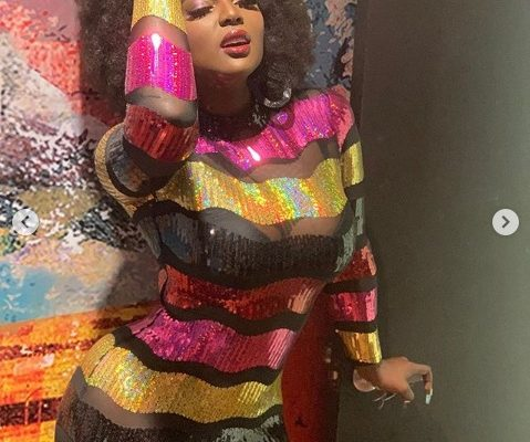 This Reality Star Exposes Her Bum In See-Through Dress (Photos)