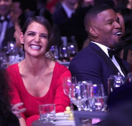 Katie Holmes ended her relationship with Jamie Foxx
