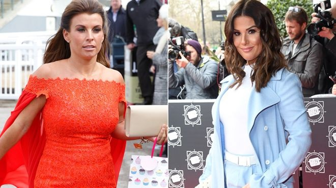 Battle of the Footballer wives: Wayne Rooney's wife calls out Jamie Vardy's wife