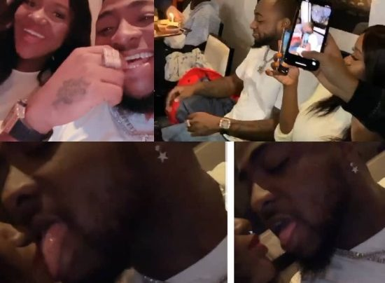 Davido's 27th birthday Pictures.