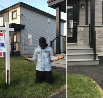 Fshaw the Ex-EFCC Twitter handler,buys himself a house after leaving the country.