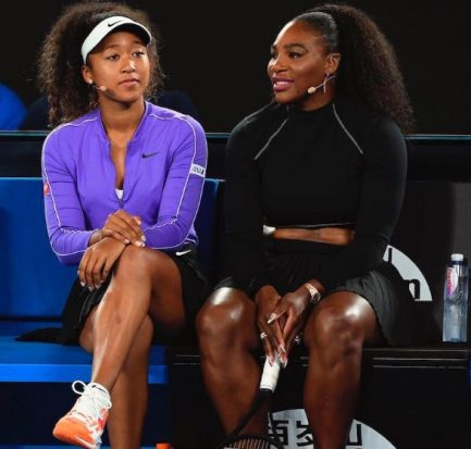 "Me and my mom"" Serena Williams honoured by Naomi Osaka"