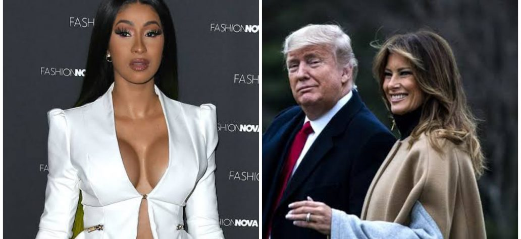 Cardi B shares naked photo of US First Lady after